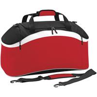 Tassen Sporttas Bagbase BG572 Klassiek rood/ zwart/wit