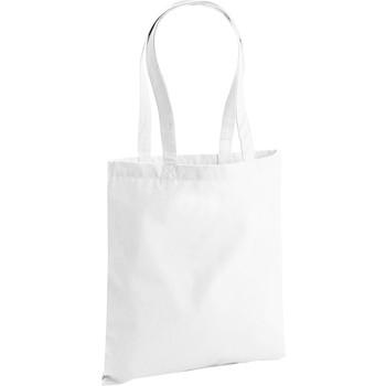 Tassen Tote tassen / Boodschappentassen Westford Mill W801 Wit