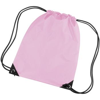 Tassen Kinderen Sporttas Bagbase BG10 Klassiek Roze