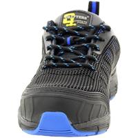 Schoenen Heren veiligheidsschoenen Grafters  Zwart/Blauw