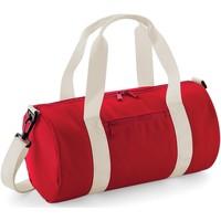 Tassen Sporttas Bagbase B140S Klassiek rood/wit