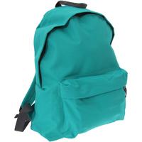 Tassen Rugzakken Bagbase BG125 Smaragdgroen/grafietgrijs