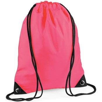 Tassen Kinderen Sporttas Bagbase BG10 Fluorescerend Roze