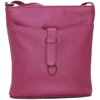 Tassen Dames Schoudertassen met riem Eastern Counties Leather  Fuchsia