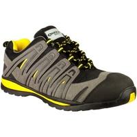 Schoenen Heren Lage sneakers Amblers 42C S1P HRO Zwart/Grijs/Geel