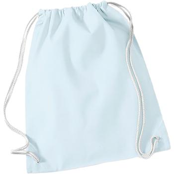 Tassen Kinderen Sporttas Westford Mill W110 Pastelblauw/Wit