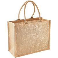 Tassen Dames Tote tassen / Boodschappentassen Westford Mill W437 Natuurlijk Goud