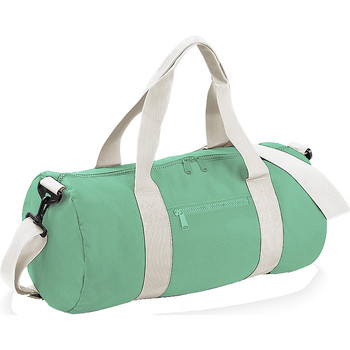 Tassen Reistassen Bagbase BG140 Mintgroen/uitwendig wit