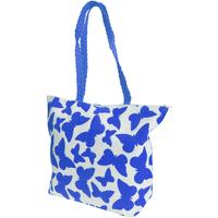 Tassen Dames Tote tassen / Boodschappentassen Floso  Wit/blauw