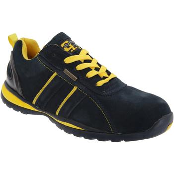 Schoenen Heren Lage sneakers Grafters  Marineblauw/Geel