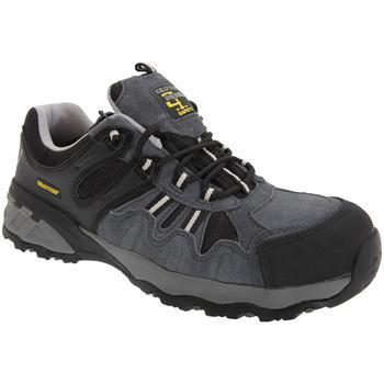 Schoenen Heren Lage sneakers Grafters  Grijs/Zwart