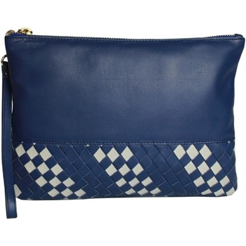 Tassen Dames Tasjes / Handtasjes Eastern Counties Leather  Blauw/steen
