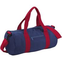 Tassen Reistassen Bagbase BG140 Franse marine / klassiek rood