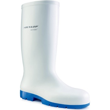 Schoenen Regenlaarzen Dunlop  Wit
