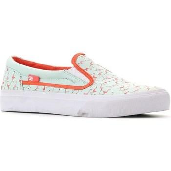 Schoenen Dames Instappers DC Shoes Trase Slipon SP Vert clair