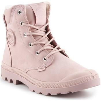 Schoenen Dames Laarzen Palladium Manufacture Pampa Sport Rose