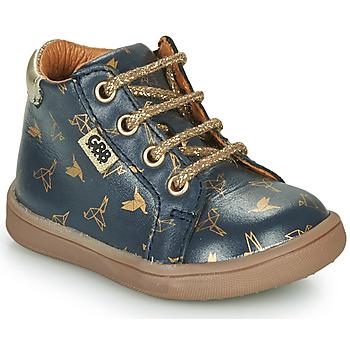Schoenen Meisjes Laarzen GBB FAMIA Blauw / Goud