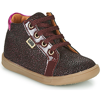 Schoenen Meisjes Hoge sneakers GBB FAMIA Bordeaux
