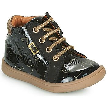 Schoenen Meisjes Hoge sneakers GBB FAMIA Zwart