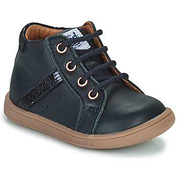 Schoenen Meisjes Hoge sneakers GBB AGLAE Blauw