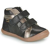 Schoenen Meisjes Hoge sneakers GBB EDEA Zwart