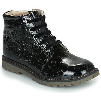 Schoenen Meisjes Laarzen GBB NAREA Zwart