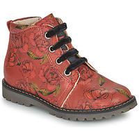 Schoenen Meisjes Laarzen GBB NAREA Rood