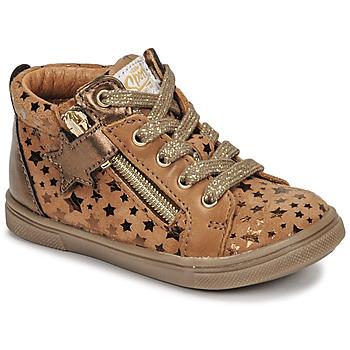 Schoenen Meisjes Hoge sneakers GBB VALA Brown