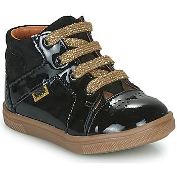 Schoenen Meisjes Hoge sneakers GBB THEANA Zwart