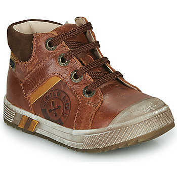 Schoenen Jongens Hoge sneakers GBB OLANGO Brown