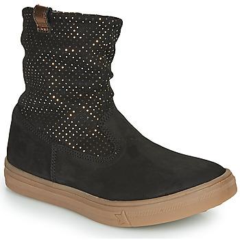 Schoenen Meisjes Hoge laarzen GBB KINGA Zwart