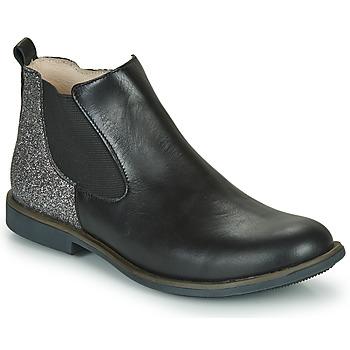 Schoenen Meisjes Laarzen GBB NAKOVO Zwart