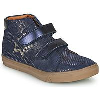 Schoenen Meisjes Hoge sneakers GBB MAYMA Blauw