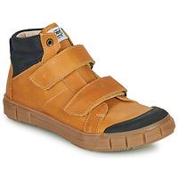 Schoenen Jongens Hoge sneakers GBB HENI Cognac