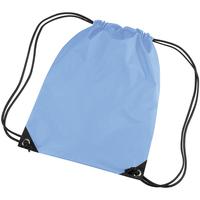 Tassen Kinderen Sporttas Bagbase BG10 Hemelsblauw