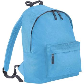 Tassen Rugzakken Bagbase BG125J Surfblauw/grafietgrijs