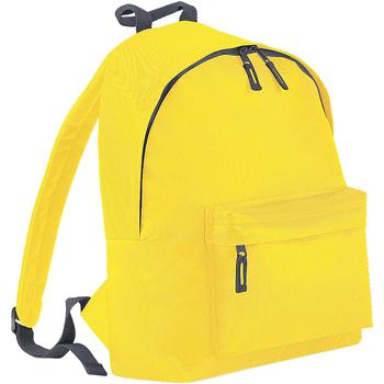 Tassen Rugzakken Bagbase BG125 Geel/Grafietgrijs
