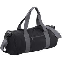 Tassen Reistassen Bagbase BG140 Zwart/Grijs