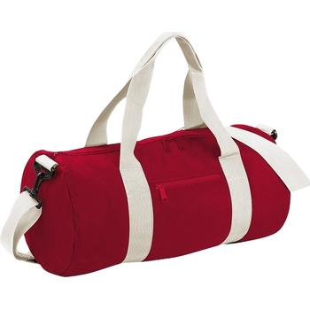 Tassen Reistassen Bagbase BG140 Klassiek rood/wit