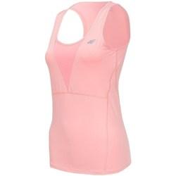 Textiel Dames Mouwloze tops 4F TSDF001 Rose