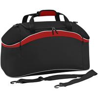 Tassen Sporttas Bagbase BG572 Zwart / Klassiek rood / Wit