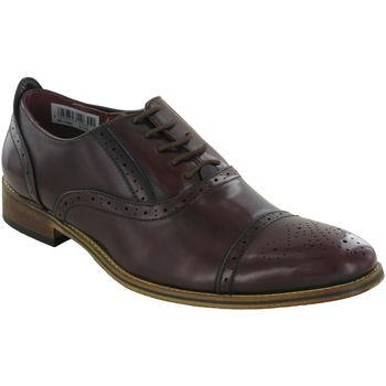 Schoenen Heren Derby Goor Oxford Bruin