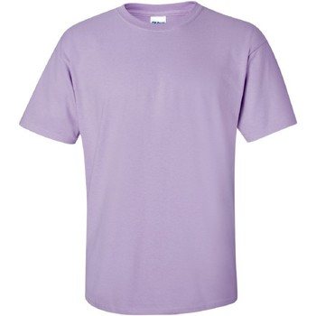 Textiel Heren T-shirts korte mouwen Gildan Ultra Orchidee