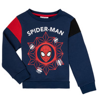 Textiel Jongens Sweaters / Sweatshirts TEAM HEROES SPIDERMAN SWEAT Marine
