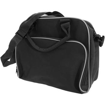 Tassen Kinderen Schooltassen Bagbase BG145 Zwart/Wit