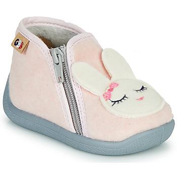 Schoenen Meisjes Sloffen GBB CORI Roze