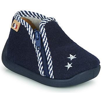 Schoenen Jongens Sloffen GBB KITRA Blauw