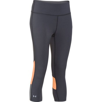 Textiel Dames Korte broeken Under Armour Stretch Capri Zwart