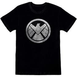 Textiel Heren T-shirts korte mouwen Avengers  Zwart