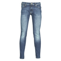 Textiel Heren Skinny jeans Jack & Jones JJILIAM Blauw / Medium